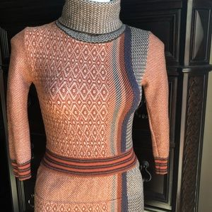 Etro Cashmere Wool Blend Dress